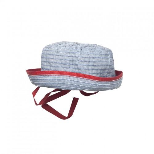 Blue Grosgrain Sun Hat