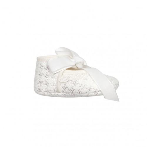 Woven White Shoes