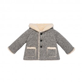 Satellite Knit Winter Coat