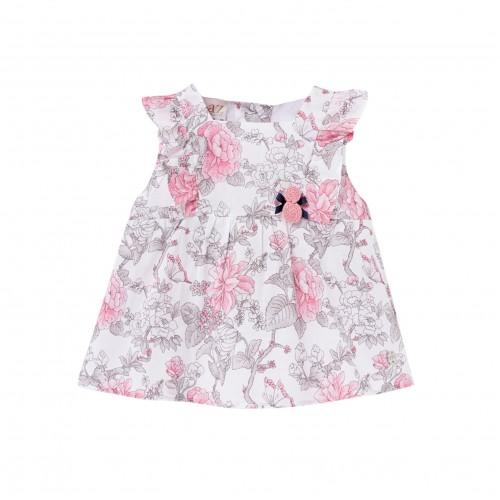 Paraiso Floral Short Dress
