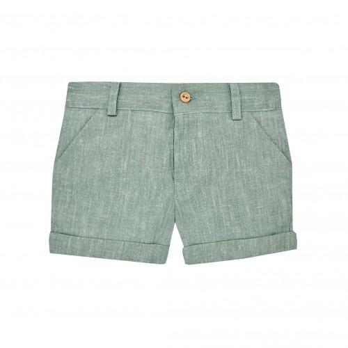 Green Summer Pants