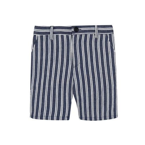 Striped Navy Pants