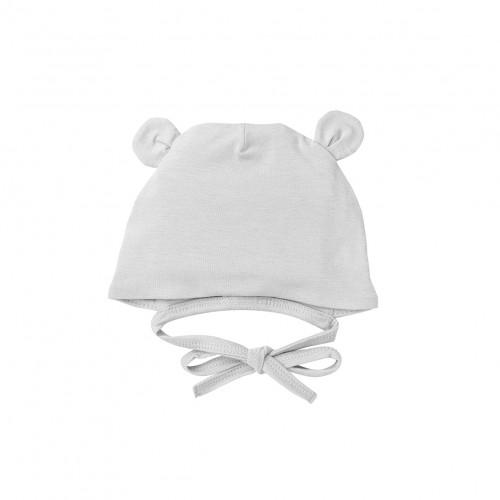 Newborn Grey Bonnet