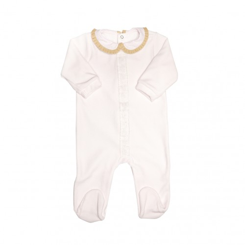 Baby Pink Winter Bodusuit
